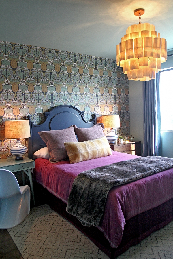 A Guest Bedroom In The New Ronald Mcdonald House Designed